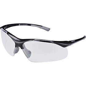 UVEX Sportstyle 223 Sportglasses black grey/clear
